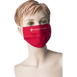 Promo stoffen mondmasker met bedrukking naar keuze 13