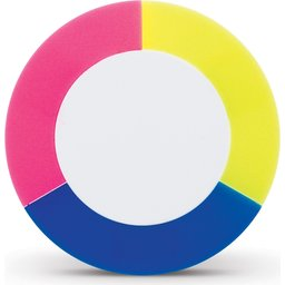 Puck highlighter tekstmarker blauw