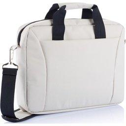 PVC vrije 15,4 inch exhibition laptop tas bedrukken