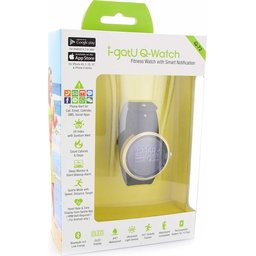 Q-Watch plus heart rate Smart Fitness watch 1