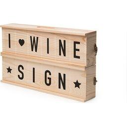 Rackpack Wine Sign bedrukken