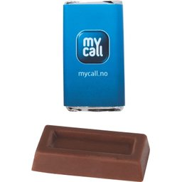 Rechthoekige Napolitain chocolade bedrukken