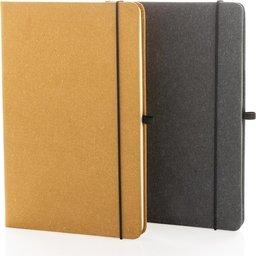 Recycled leder hardcover A5 notitieboek notaboek