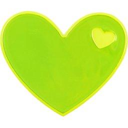 Reflecterende sticker hart-recht