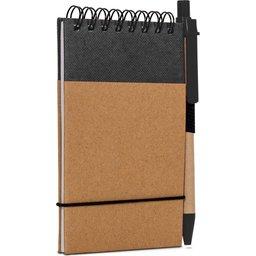 Reporter Notitieboekje Recycled Papier met Pen-assortiment