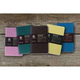 Rockbook notitieboek gemaakt van steenafval bedrukken