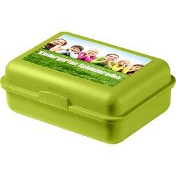 Schoolbox brooddoos groen