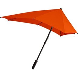 Senz smart stormparaplu oranje