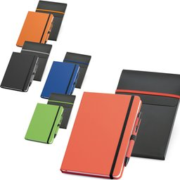 Set balpen en notitieboekje