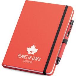 Set balpen en notitieboekje bedrukken