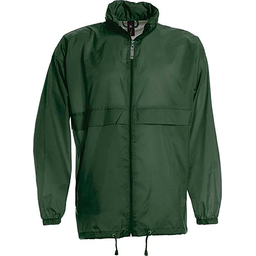 Sirocco Jack - opvouwbare jasje in jaszak groen