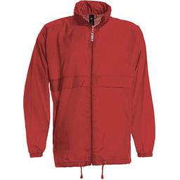 Sirocco Jack - opvouwbare jasje in jaszak rood