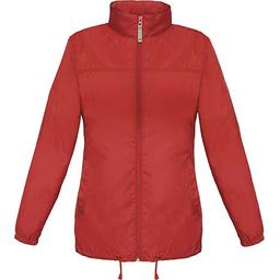 Sirocco Jack - opvouwbare jasje in jaszak vrouwen rood