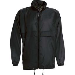 Sirocco Jack - opvouwbare jasje in jaszak zwart