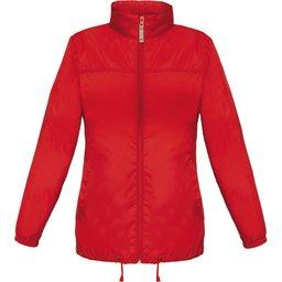 Sirocco Jack Women - opvouwbare jasje in jaszak rood dames