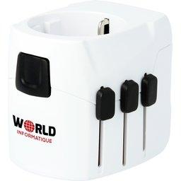 Skross reisadapter PRO Light USB