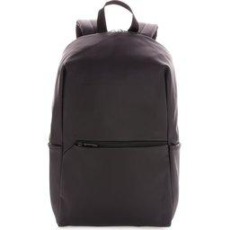 """Smooth PU 15.6"""" laptop rugzak PVC-vrij -voorzijde"""