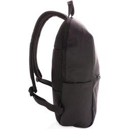 "Smooth PU 15.6"" laptop rugzak PVC-vrij -zijknt"