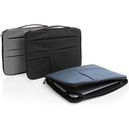 "Smooth PU 15.6"" laptop sleeve met handvat PVC-vrij -assortiment"