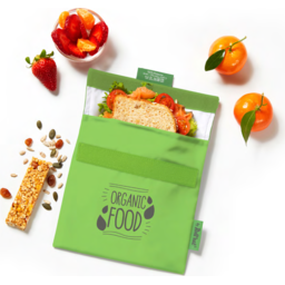 Snack n go met logo