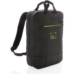 Soho business RPET laptop rugtas bedrukt