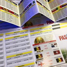 Speelschema folder WK Rusland