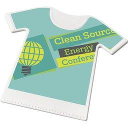 Sporty ijskrabber in vorm van T-shirt
