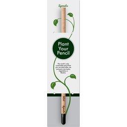 Sprout plant uw potlood