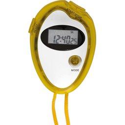 Stopwatch met chronometer, klok en alarm