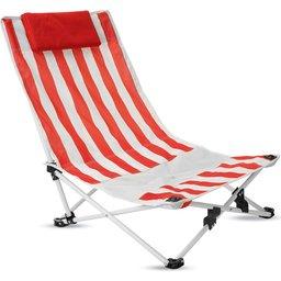 Strandstoel met kussen bedrukken