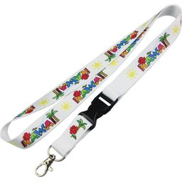 Sublimation lanyard met buckle bedrukken
