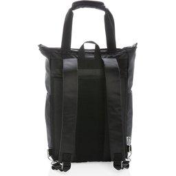 """Swiss Peak 15"""" laptop rugzak en draagtas PVC vrij-achterzijde"""
