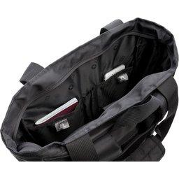 """Swiss Peak 15"""" laptop rugzak en draagtas PVC vrij-binnenin"""