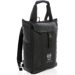 """Swiss Peak 15"""" laptop rugzak en draagtas PVC vrij-gepersonaliseerdd"""