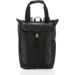"""Swiss Peak 15"""" laptop rugzak en draagtas PVC vrij-voorzijde"""