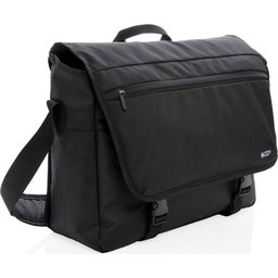 "Swiss Peak RFID 15"" laptop messenger tas PVC vrij"