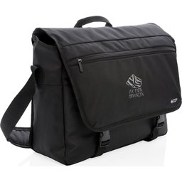 "Swiss Peak RFID 15"" laptop messenger tas PVC vrij -gepersonaliseerd"
