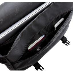 "Swiss Peak RFID 15"" laptop messenger tas PVC vrij -openbinnenzijde"