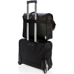 "Swiss Peak RFID 15"" laptop messenger tas PVC vrij -voorbeeld"