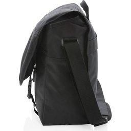 """Swiss Peak RFID 15"""" laptop messenger tas PVC vrij -zijkant"""