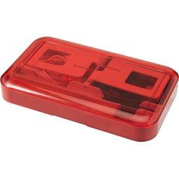 Telefoonset met stylus, microvezel doekje, USB kabel en oordopjes