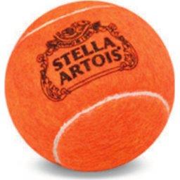 Tennis ballen Game Play bedrukt Europa