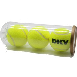 Tennisballen in Tube bedrukken