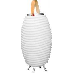 The Kooduu Led lamp, Bluetooth speaker en koeler