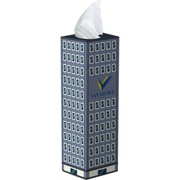 Tissue box toren bedrukken