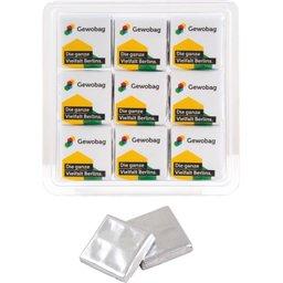Transparante box 9 x 5 gr