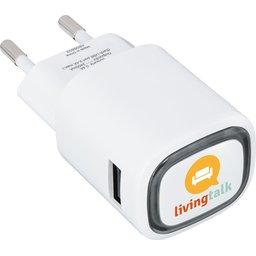 USB Adapter met logo verlichting bedrukken