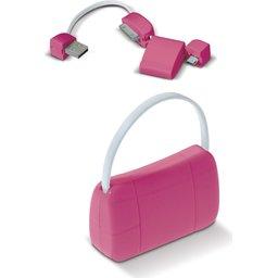 USB connector Lady Bag bedrukken