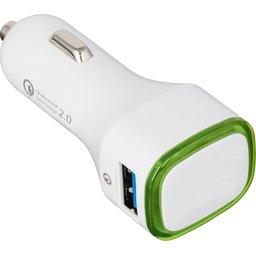 USB snellader voor in de auto met Quickcharge 2