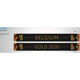 Voetbal sjaal België 2020 GOLD